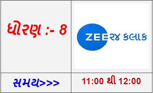 STD 8 - G-24 Kalak Gujarati TV Live Karyakram