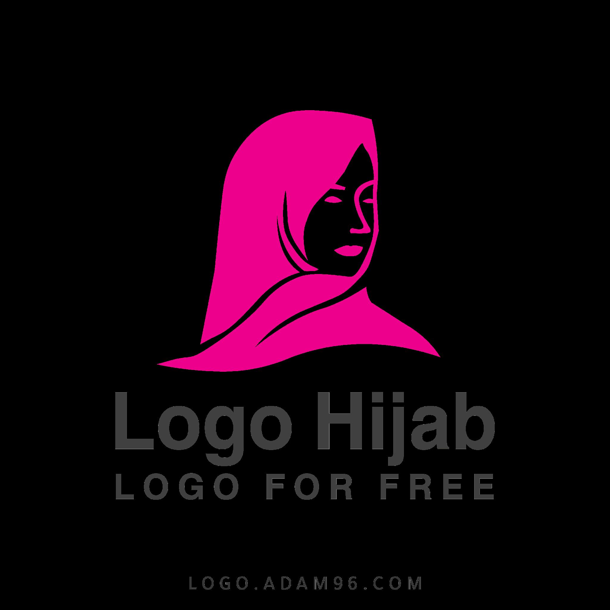 تحميل شعار حجاب مجاناً جاهز للتعديل بصيغة SVG PDF AI