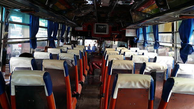 Autobús Kanchanaburi - Suphanburi