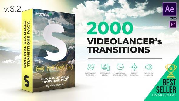 Videolancer's Transitions   Original Seamless Transitions Pack V6.1