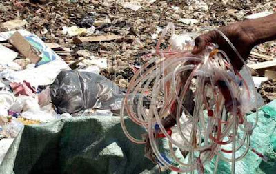 النفايات الخطره علي البيئه