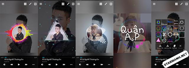 Avee Player PRO - Tạo video nhạc trên điện thoại cực đẹp
