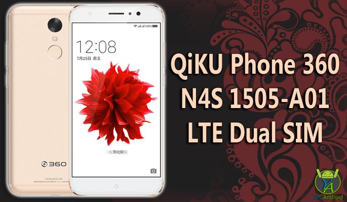 QiKU Phone 360 N4S 1505-A01 LTE Dual SIM Full Specs Datasheet