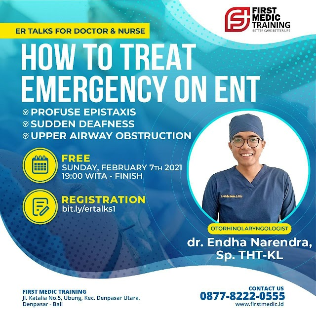 Free Webinar How to Treat Emergency on ENT