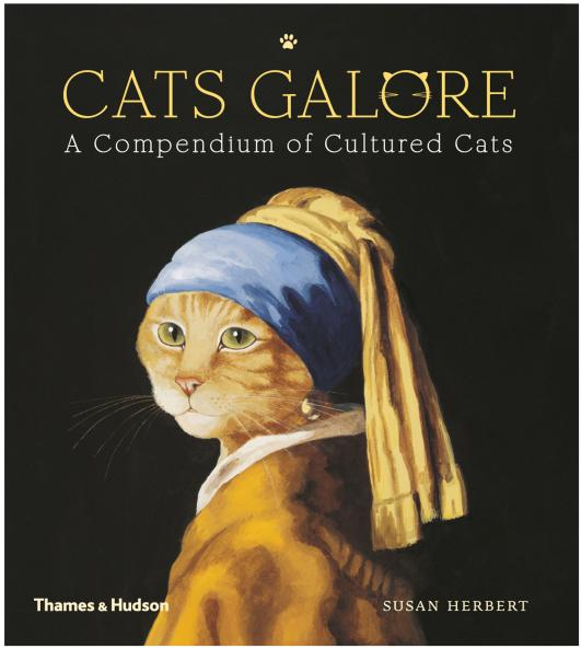 Cats Galore: Felinos viram protagonistas de obras clássicas, reinterpretadas por Susan Herbert