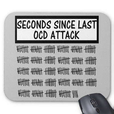 Mousemat seconds since last OCD attack