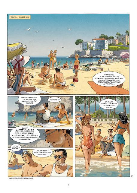 """page de """"A LA VIE, A LA MORT"""" T2 par Séjourné et Rodolphe chez Soleil"""