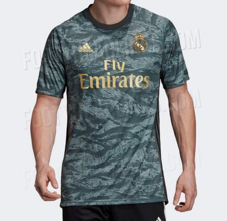 1b0d7e9ab5f415 Il nuova maglie calcio per il portiere del Real Madrid è stato trapelato  oggi. Sarà indossato nella Liga del 19-20 ed è pronto per essere rilasciato  a breve ...