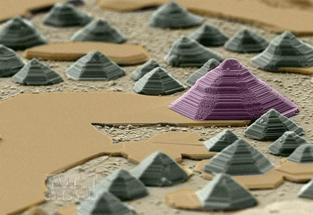 Pirámides de Seleniuro