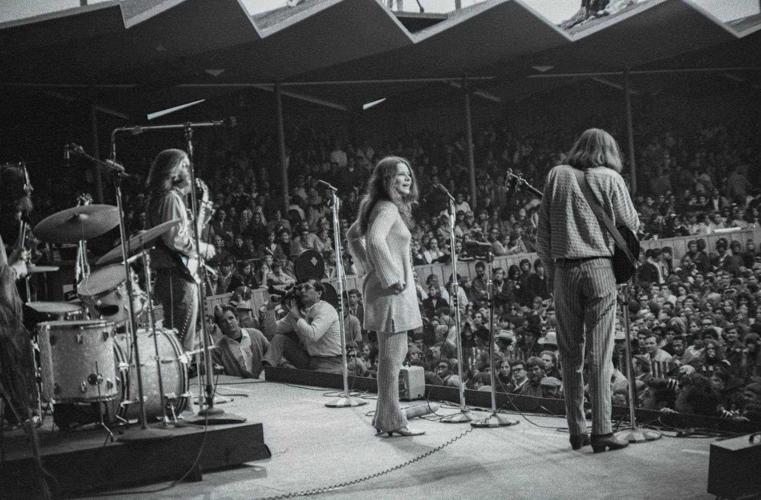 Rarely Seen Photographs of of Jimi Hendrix, Janis Joplin and The Who at The Monterey Pop Festival in June 1967