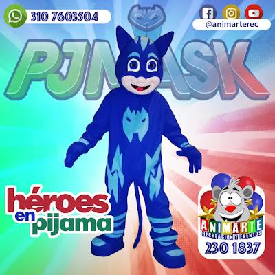 Héroes en Pijama personaje fiesta infantil
