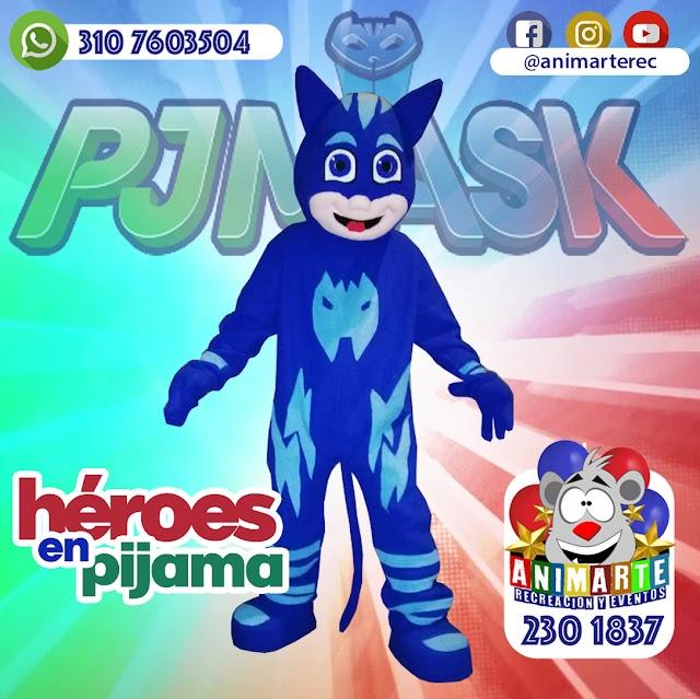 Héroes en Pijama en tu Fiesta Infantil