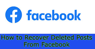 How to Recover Deleted Posts From Facebook