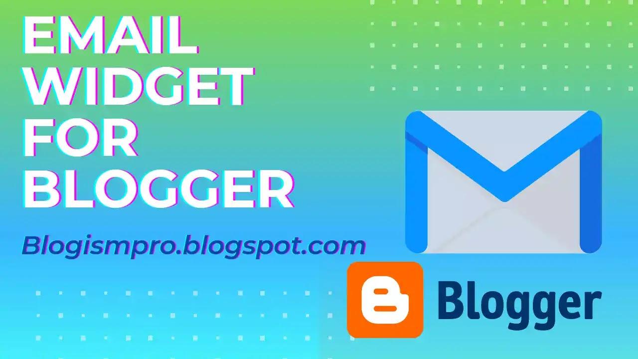 stylish Newsletter Widget for Blogger