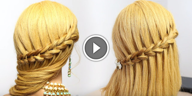 How To Create Scissor Waterfall & Mermaid Braids, See Tutorial