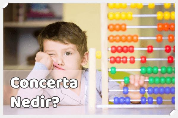 Concerta Ne İşe Yarar?