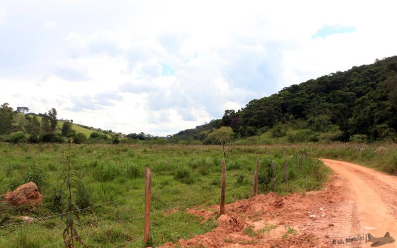 Estrada Real entre Caxambu e São Lourenço.