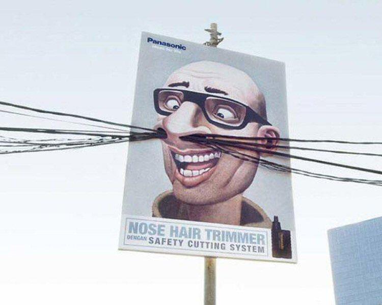 Panasonic: Nose hair trimmer