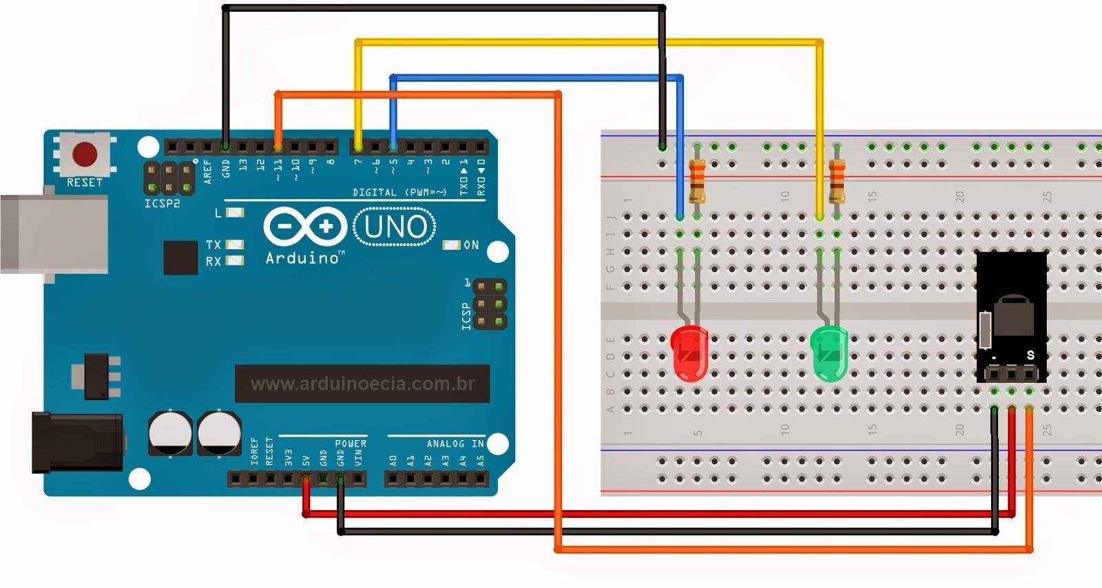 circuits4you com: IR remote control Arduino
