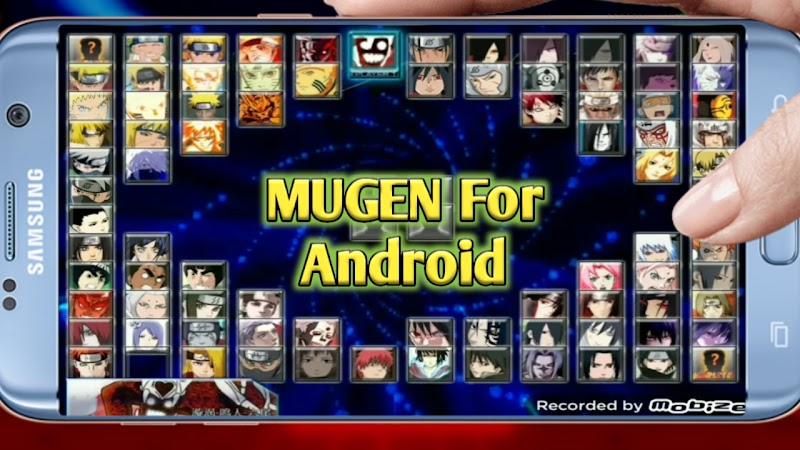 New Naruto Real MUGEN For Android With Over 70 Characters