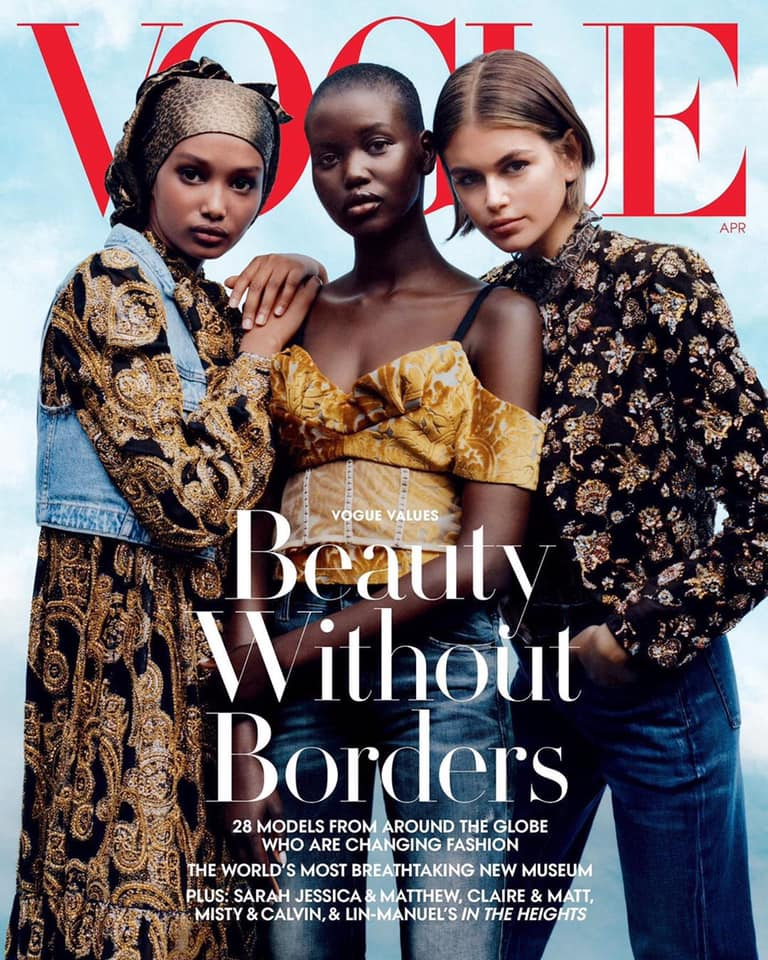 Vogue US celebrates the global runway for April 2020
