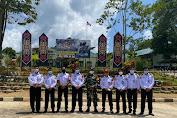 Koordinasi Penguatan Pengawasan Perbatasan Kanim Kelas II TPI Sanggau dengan Satgas Pamtas di Komando Taktis Badau