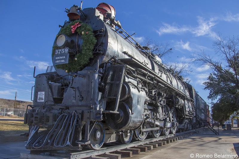 Locomotive Park Route 66 Things to Do in Kingman Arizona