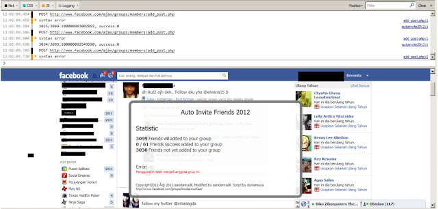 Cara menambahkan Ribuan Anggota Grup FB sekejap (sukmagie blog)