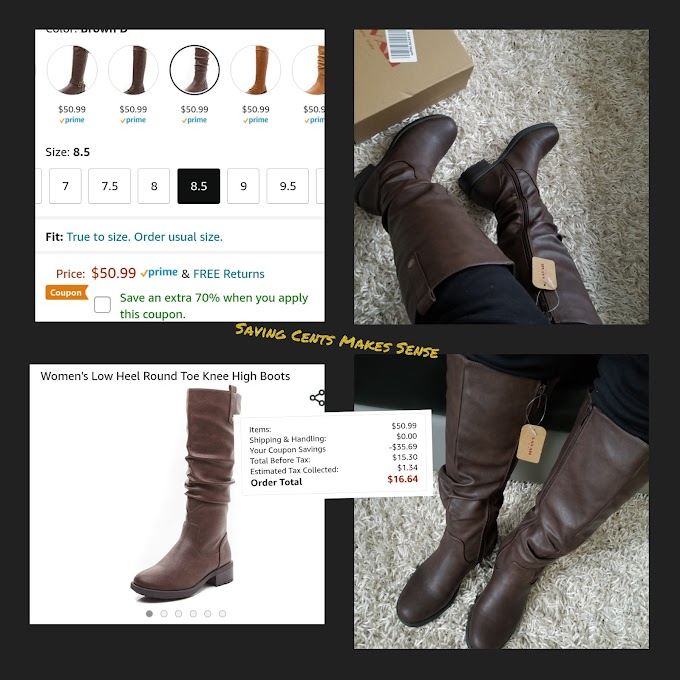 My new favorite boots and I got them for 70% Off!!!