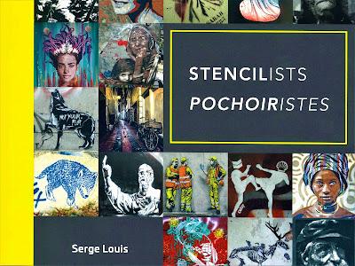 Stencilists et Pochoiristes, livre de Serge Louis - photo de couverture