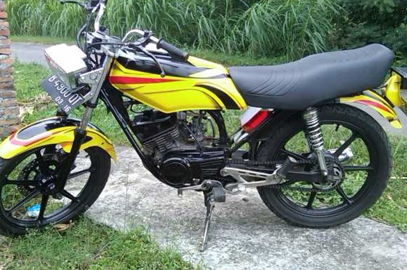 modifikasi motor rx king standar