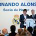 """Fernando Alonso é nomeado como membro honorário do Real Madrid: """"Nasci para ser madridista"""""""