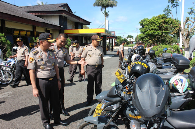 Cek Randis dan Senpi Dinas Tim Supervisi Polda Lampung Turun ke Polres Lambar