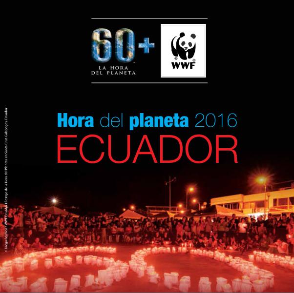 La Universidad San Francisco de Quito colaboró con la Hora del planeta 2016 en ECUADOR