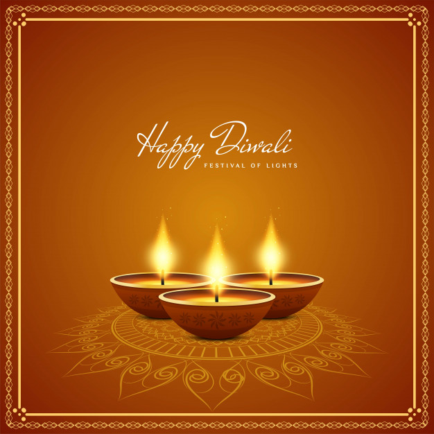 diwali 2019 India diwali elements backgrounds vector Free vector 02