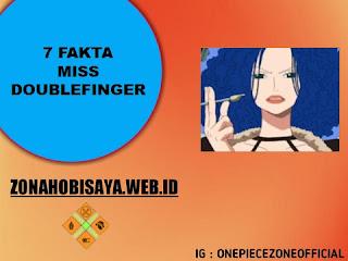 7 Fakta Zala One Piece, Dikenal Dengan Sebutan Miss Doublefinger