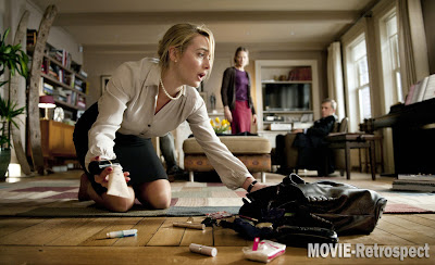 Kate Winslet hits the deck in Carnage