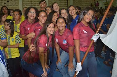 Resultado de imagem para fotos da abertura dos jogos estudantis 2019 sao paulo do potengi