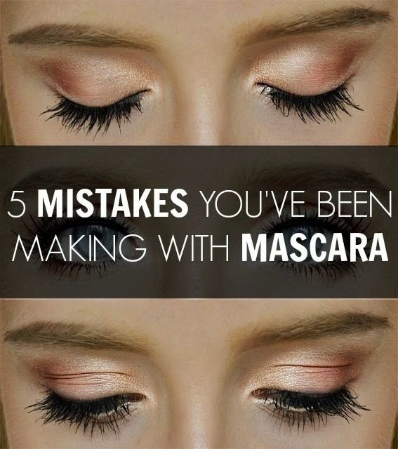5 Mistakes You've Been Making With Mascara  Eye Makeup