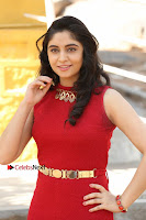 Telugu Actress Zahida Sam Latest Pos in Red Gown at RF Films New Movie Opening  0028.JPG