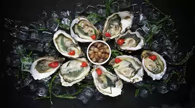 oyster bar - food and beverage service outlets