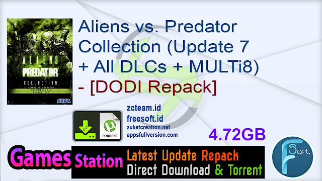Aliens vs. Predator Collection (Update 7 + All DLCs + MULTi8) – [DODI Repack]