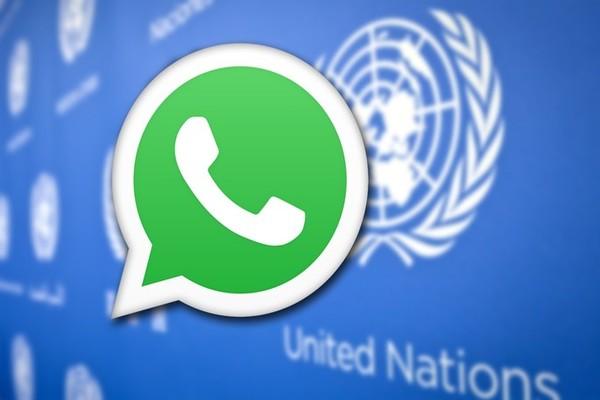 الأمم المتحدة: واتس آب ليس وسيلة آمنة للتواصل!