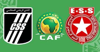 مشاهدة مباراة النجم الساحلي و الصفاقسي 4-4-2021 بث مباشر في الكونفدرالية الافريقية