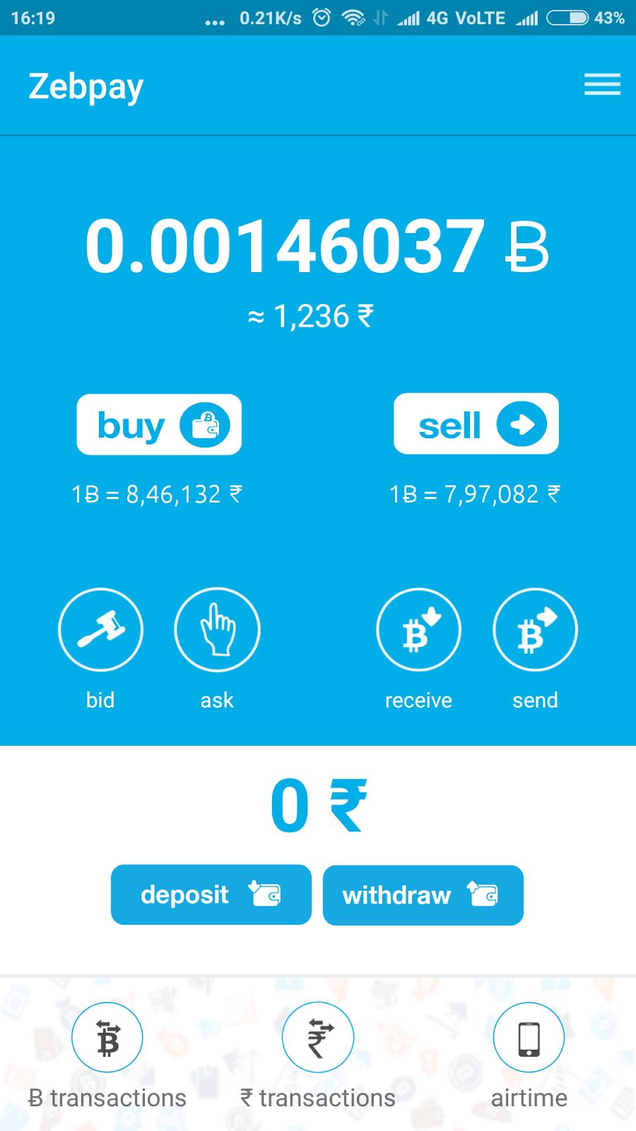 best bitcoin investment app