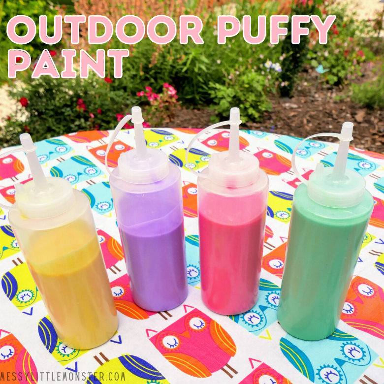 outdoor puffy paint