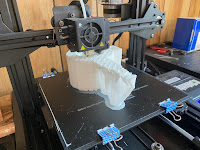 Printing the housing