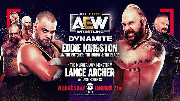 Repetición AEW Dynamite - 27 De Enero 2021 Full Show