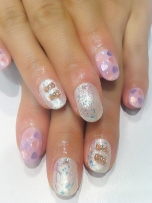 Stylish Nail Art Designs for Spring 2012 ~ Violet Fashion Art