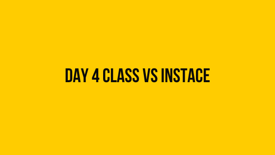 Day 4: Class vs. Instance hackerrank 30 days of code solution